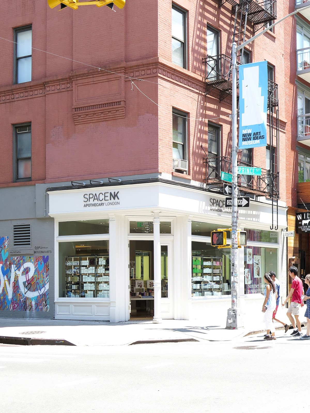 Space NK Boutique – 31 Prince Street in Nolita